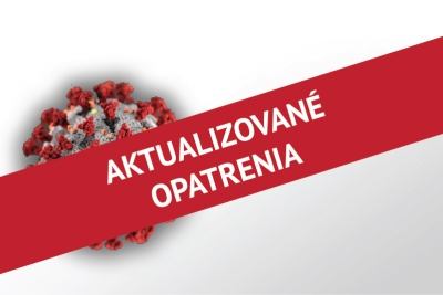 Updated measures of the Rector of the University of Economics in Bratislava no. 5 on the current situation related to Coronavirus - March 24, 2020