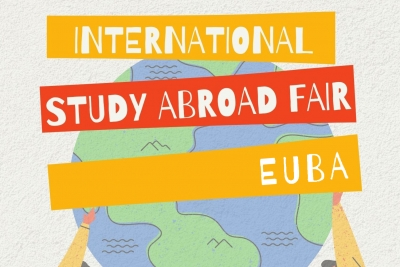 Presentation of foreign partner universities at the 6th International Study Abroad Fair
