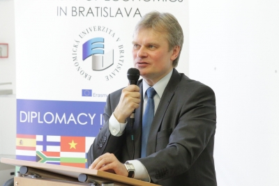 Estonian Ambassador on Digitization and Cyber Security