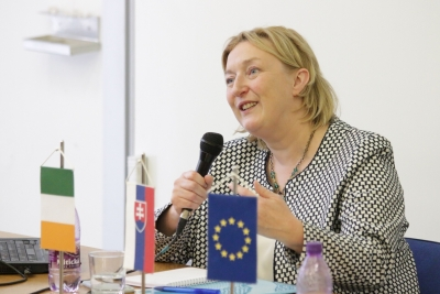 Irish Ambassador on her Country's EU Membership Experience