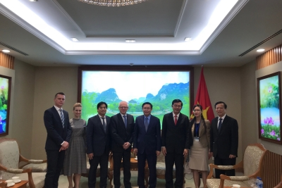 Deputy Prime Minister of Vietnam supports UEBA's cooperation with Vietnamese universities