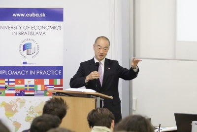 Japanese Ambassador launched the new Diplomacy in Practice lecture series