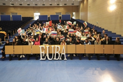 International students from 22 countries of the world on the exchange program at the EUBA in the summer semester