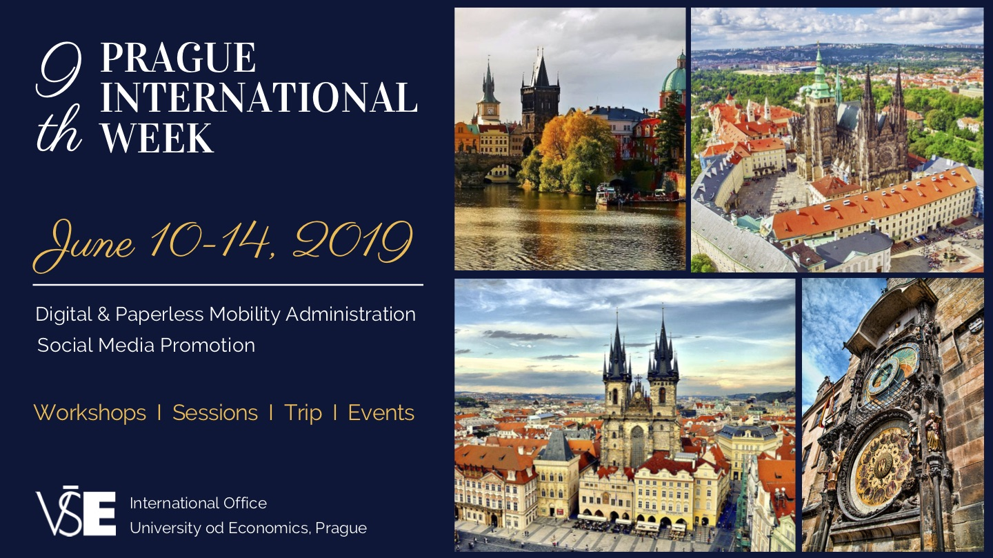 9th prague international week invitation