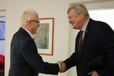 Univerzitné udalosti » Receiving the Delegation from the Kyiv National Economic University named after Vadym Hetman