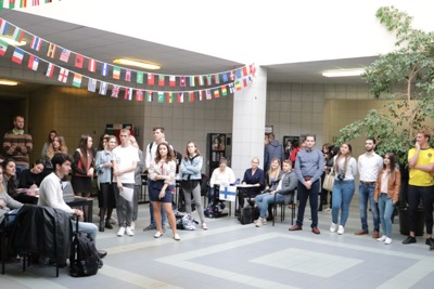 Univerzitné udalosti » Students of the University of Economics in Bratislava met dozens of countries for one day