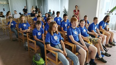 Univerzitné udalosti » Opening of the 3rd Children's University of Economics in English